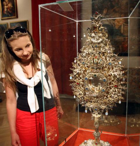 Skarby krakowskich wizytek nawystawie w Muzeum Narodowym