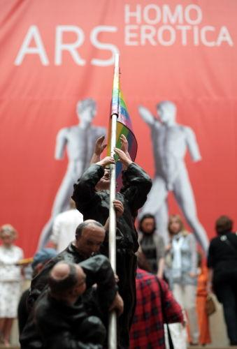 """Wernisaż """"Ars Homo Erotica"""" bez protestujących"""