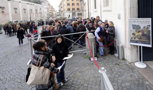 Tłumy na wystawie Caravaggia w Rzymie tuż przed jej zamknięciem