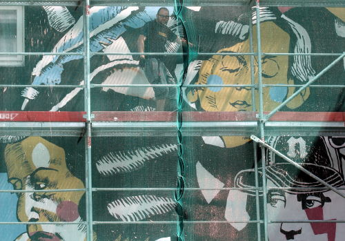 Gigantyczne murale chopinowskie odsłonięto w stolicy