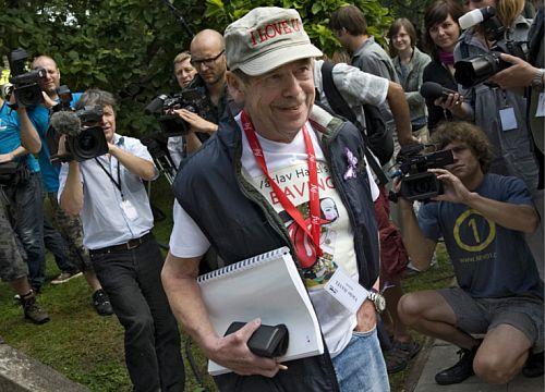 Vaclav Havel kręci swój pierwszy film