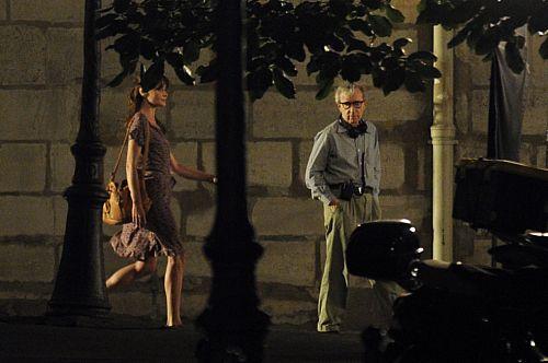 Woody Allen kręci film z prezydentową Carlą Bruni
