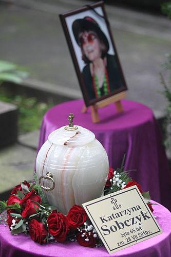 Pogrzeb Kasi Sobczyk na Starych Powązkach
