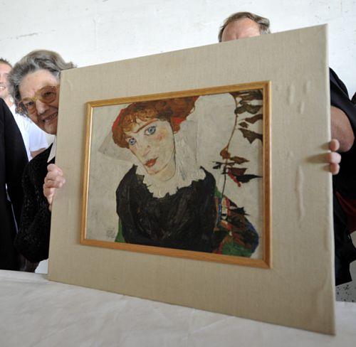 Austria: po12 latach batalii obraz Schielego wrócił do Wiednia