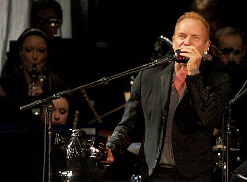 Sting zagrał na otwarcie Stadionu Miejskiego w Poznaniu