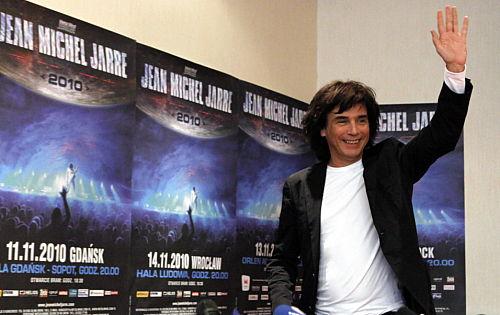 W listopadzie cztery koncertyJean-Michel Jarre'a w Polsce