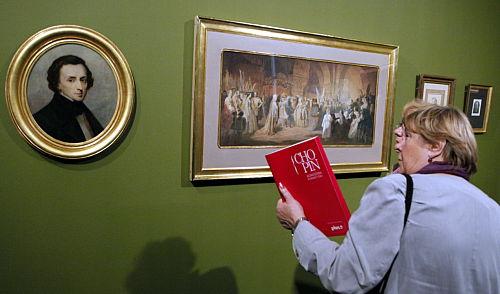 """Wystawa """"Chopin. Ikonosfera romantyzmu"""" w Muzeum Narodowym"""