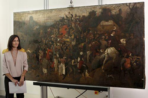 Nieznany obraz Bruegela odkryto w Madrycie