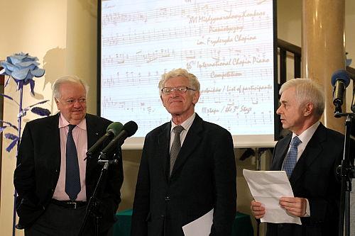 Przewodniczący jury Konkursu Chopinowskiego: jeszcze nikt nie wie, kto wygra