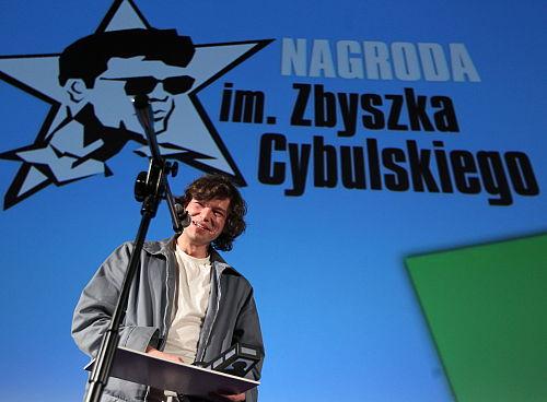 Mateusz Kościukiewicz laureatem Nagrody im. Zbyszka Cybulskiego