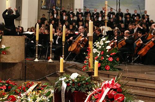 W Katowicach pożegnano Henryka Mikołaja Góreckiego