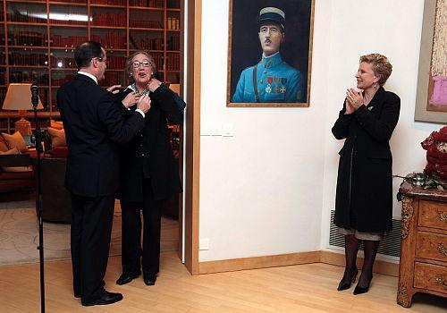 Janda i Komorowska uhonorowane francuskim Orderem Sztuk i Literatury