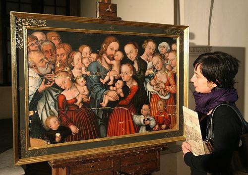 Wawelscy konserwatorzy uratowali dzieło Lucasa Cranacha Starszego