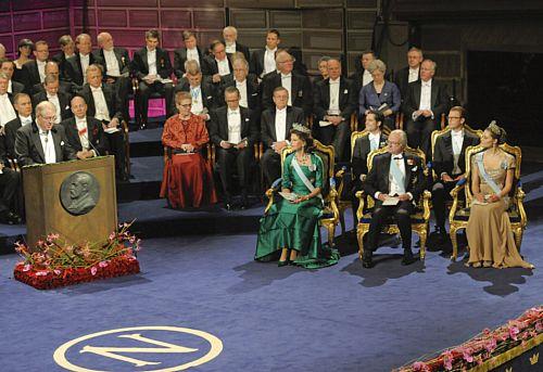 Szwecja:wręczono Nagrody Nobla