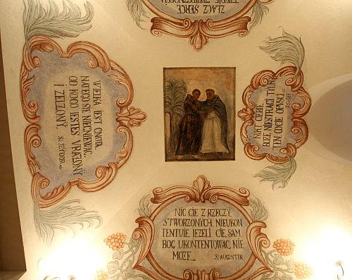 Barokowe polichromie odkryto w klasztorze ss. bernardynek wKrakowie
