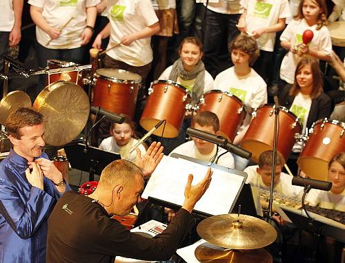 Bytom: przedświąteczny koncert Dziecięcej Orkiestry Onkologicznej