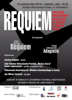 Requiem Polskim Bohaterom Poległym w Bitwie o Anglię 1940