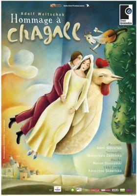 Hommage a Chagall na Festiwalu Skupova Plzeň  w Pilźnie w Czechach