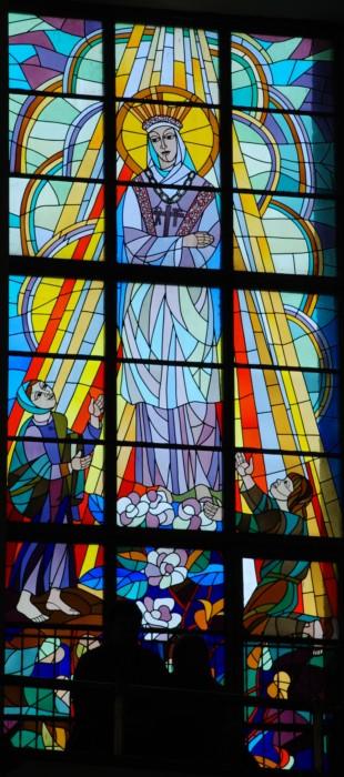 Witraże w kościele Księży Saletynów w Rzeszowie
