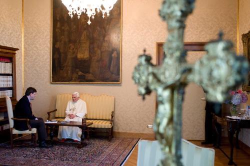 Autor wywiadu z Benedyktem XVI w Polsce