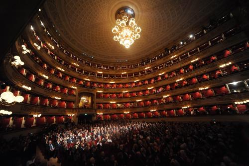 La Scala jak malowana…