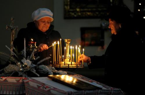 Podlaskie: Boże Narodzenie chrześcijan obrządków wschodnich