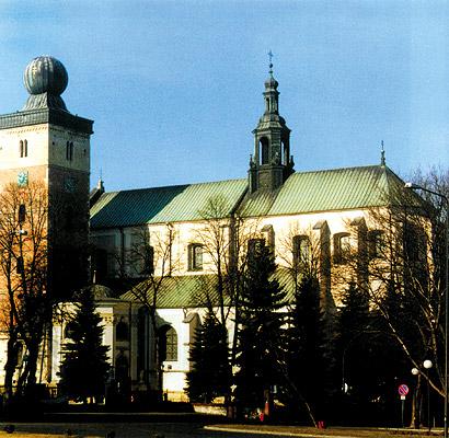 Kolegiata Grobu Bożego w Miechowie.