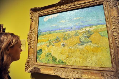 Obrazy van Gogha ciemnieją z powodu rozjaśniania farby