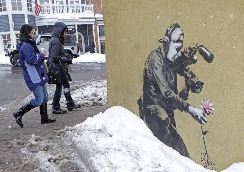 Niezwykła oscarowa kampania Banksy'ego