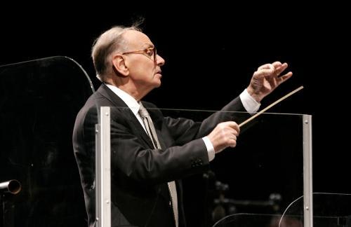 Ennio Morricone na 1-majowym koncercie w Rzymie