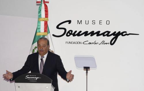 Meksykański miliarder Carlos Slim otworzył nowe muzeum