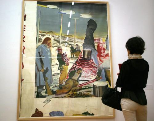 Wystawa obrazów Neo Raucha Neo w Galerii Zachęta