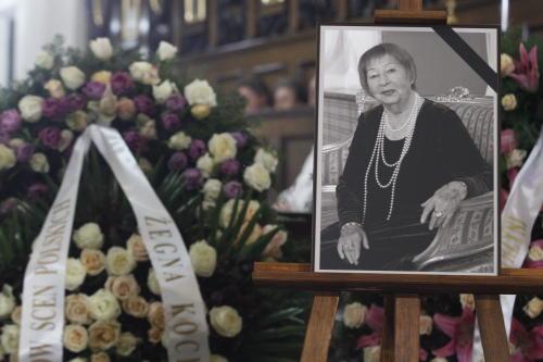 Pożegnano Irenę Kwiatkowską podczas mszy św. pogrzebowej
