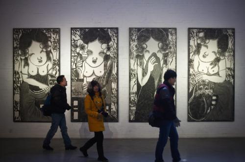 Chiny potęgą na rynku sztuki