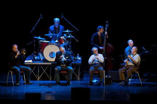 Woody Allen wystąpił ze swym zespołem jazzowym w Rzymie