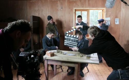 W Żaganiu kręcą film dla Discovery o największej ucieczce zobozu jenieckiego