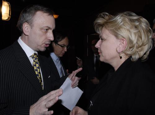 Minister kultury Bogdan Zdrojewski wśród laureatów Nagród Lewiatana