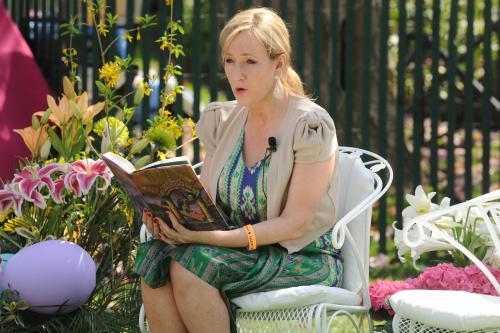 JK Rowling broni się przed e-bookami