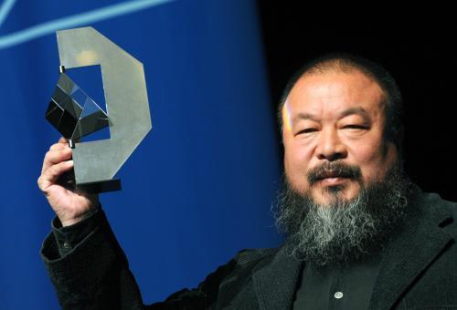 Sławny artysta Ai Weiwei przesłuchiwany przez chińską policję