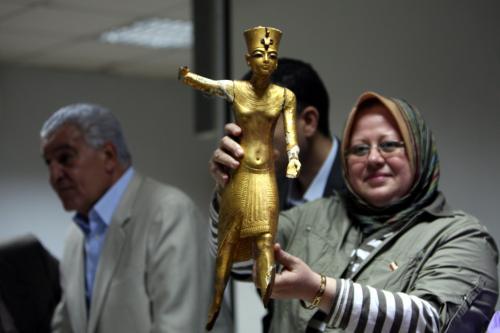 Odzyskano kolejne eksponaty skradzione z Muzeum Egipskiego w Kairze