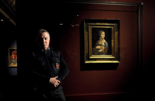 """Londyn: 280 tys. osób obejrzyna wystawie """"Damę z gronostajem"""""""