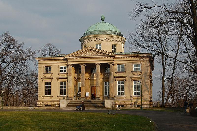 Królikarnia Merliniego jako polska Villa Rotonda