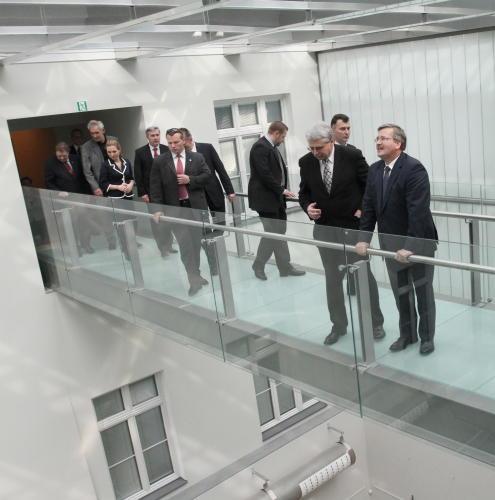 Prezydent Komorowski odwiedził Międzynarodowe Centrum Kultury w Krakowie