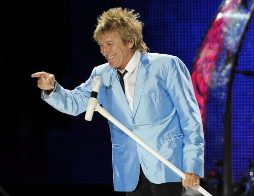 Jeden z najlepszych wokalistów Rod Stewart w sobotę wystąpiw Toruniu
