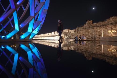 Ćwierć miliona turystów na Festiwalu Świateł w Jerozolimie
