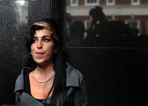 Wygwizdali Amy Winehouse