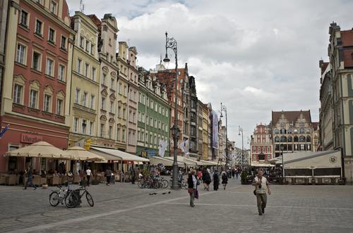 Wrocławianie świętują wybór miasta na Europejską Stolicę Kultury w 2016  r.
