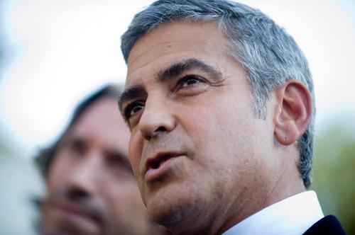 Clooney na otwarcie festiwaluw Wenecji