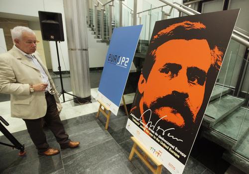 Wystawa plakatów promujących polską  prezydencję