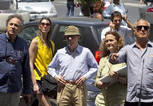 Woody Allen rozpoczął w poniedziałek w Rzymie zdjęcia do swojego nowego filmu